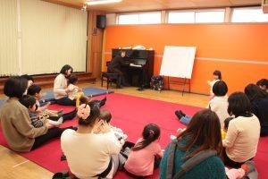 オープンルーム「親子で音楽遊び」